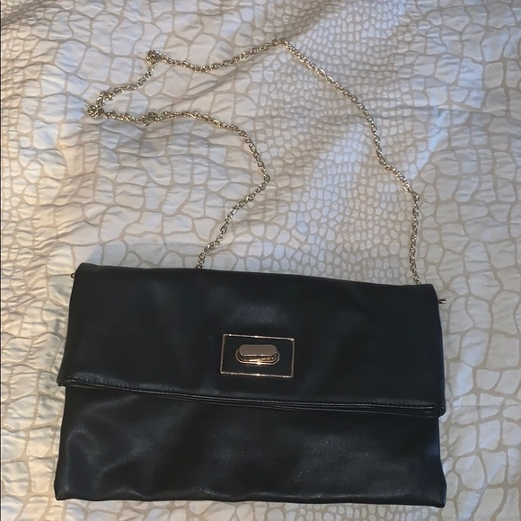 Handbags - Black crossbody/ clutch